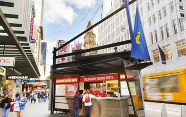 Melbourne Visitors Information Kiosk