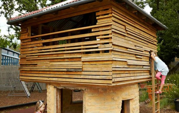 Eco Cubby-House For Elc